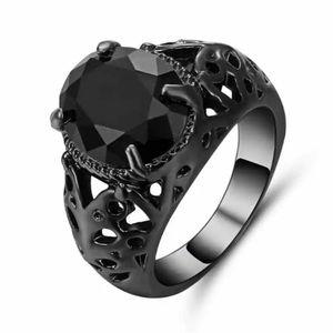 Black on black ring